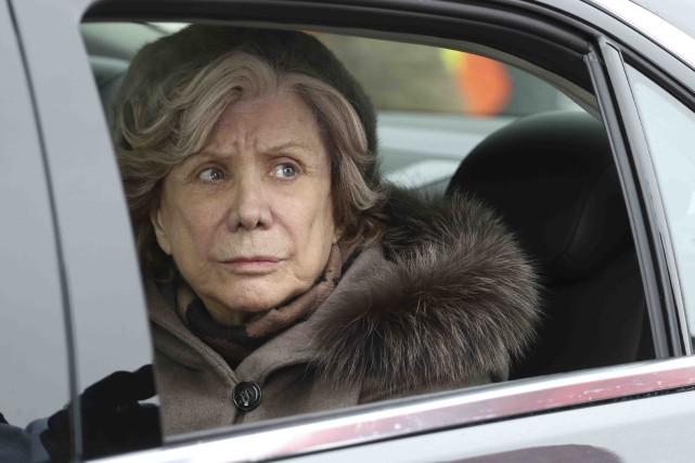 Denise Filiatrault dans C'est le coeur qui meurt... (Fournie par les Films Séville)