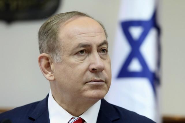 Le premier ministre israélien Benyamin Nétanyahou... (Photo Dan Balilty, archives AP)