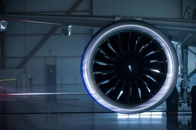 Les moteurs des avions CSeries de Bombardier, entrés... (PHOTO EDOUARD PLANTE-FRÉCHETTE, ARCHIVES LA PRESSE)
