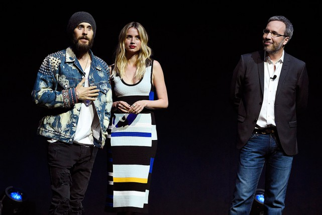 Jared Leto et Ana de Armas, acteurs dans... (Chris Pizzello, Invision via archives AP)