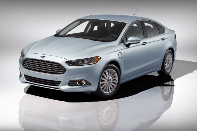 La Ford Fusion Energi... (Photo fournie par le constructeur)
