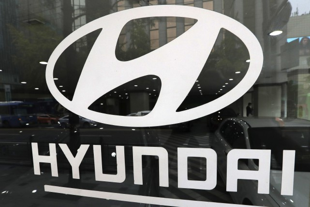 Les constructeurs automobiles Hyundai et Kia annoncent le rappel de 1,2 million... (Photo Lee Jin-man, archives AP)