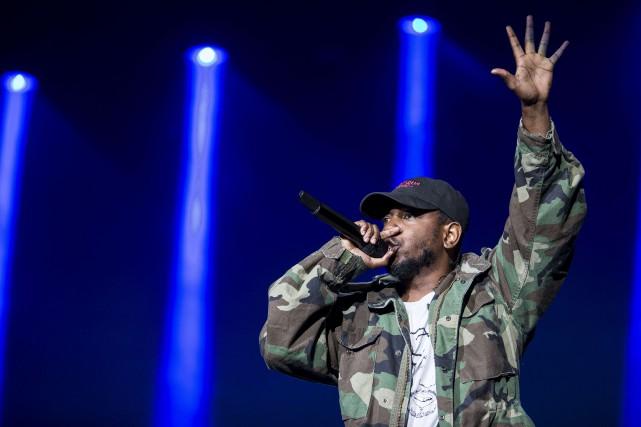 Kendrick Lamar... (PHOTO ARCHIVES LE SOLEIL)