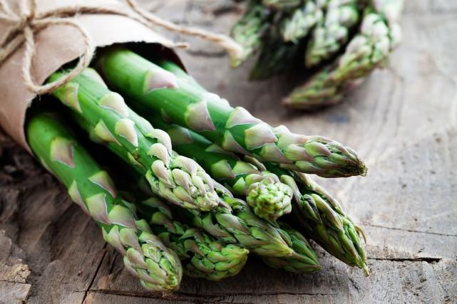 L'asperge est le premier légume québécois de saison...