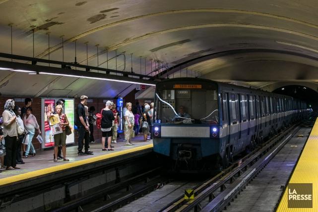 Les trains MR-73 - qui datent de la... (PHOTO HUGO-SÉBASTIEN AUBERT, ARCHIVES LA PRESSE)