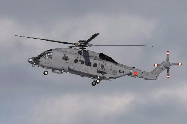 Un CH-148 Cyclone remplace lesvieux hélicoptères Sea King... (Photo Andrew Vaughan, archives La Presse canadienne)