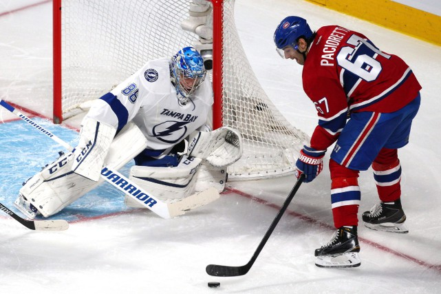 Andrei Vasilevskiy affrontera les tirs des joueurs du... (Photo Jean-Yves Ahern, USA TODAY Sports)