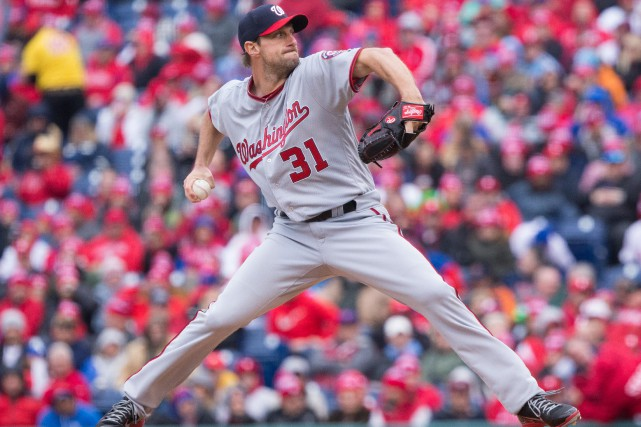 Max Scherzer... (Photo Bill Streicher, USA TODAY Sports)