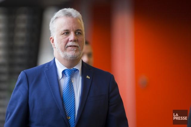 De l'avis du premier ministre Couillard, la riposte... (La Presse, Olivier Pontbriand)