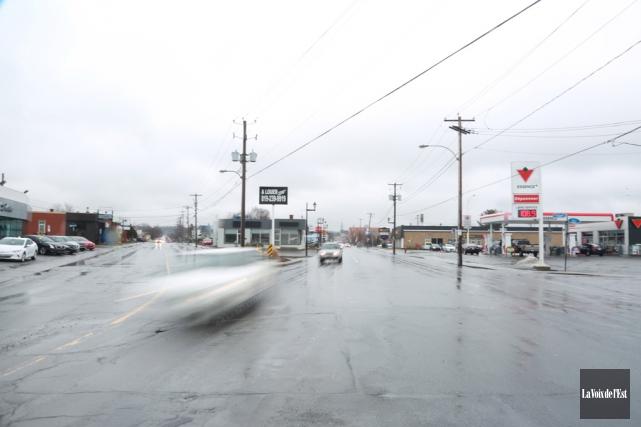 Les rues Principale et Boivin pourraient-elles devenir à... (Catherine Trudeau, La Voix de l'Est)