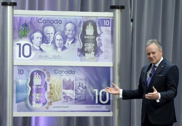 Le gouverneur de la Banque du Canada, Stephen... (La Presse canadienne)