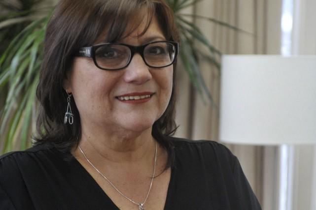 Sylvie Biscaro, directrice générale du CAVAC de la... (Stéphane Lessard)