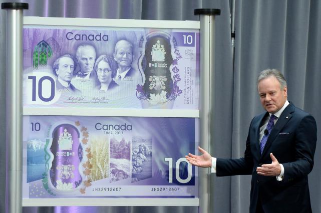 La Banque du Canada a dévoilé son nouveau billet commémoratif de 10 $...