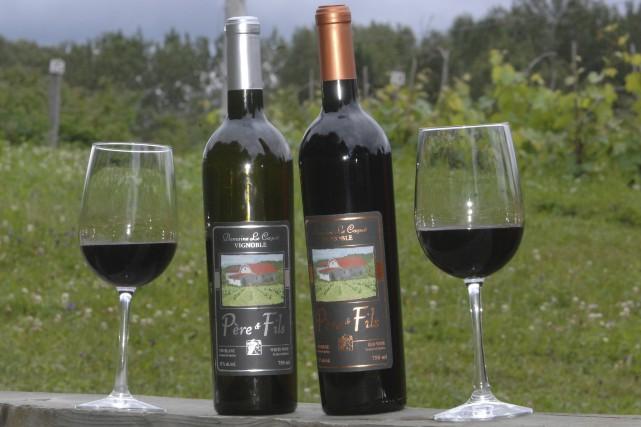 Les deux vins, créés en 2012, ont tous... (Archives Le Progrès)