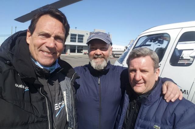 Le 18 mars, le patron de Québecor, Pierre... (Tirée de Twitter)