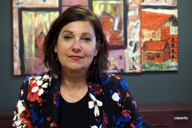 Sylvie Lafontaine, directrice générale de l'OMH de Granby... (Alain Dion, La Voix de l'Est)