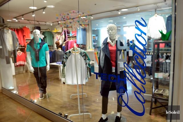 Premier Tech dispose même d'une boutique de vêtements... (Le Soleil, Erick Labbé)