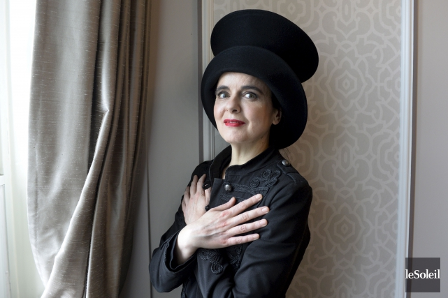 Amélie Nothomb... (Photo Jean-Marie Villeneuve, archives Le Soleil)
