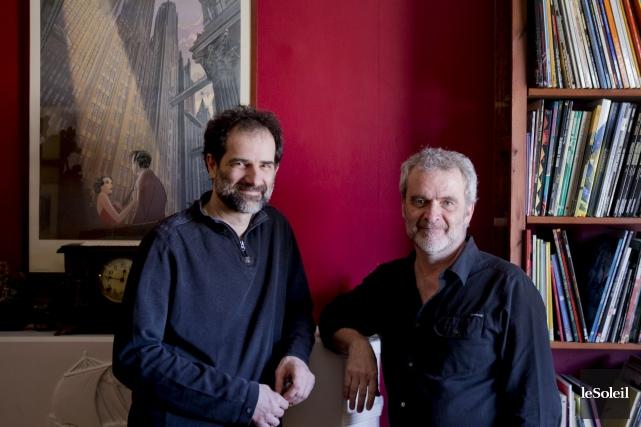 Jean-Paul Eid et Claude Paiement ont mis la... (Photothèque Le Soleil)