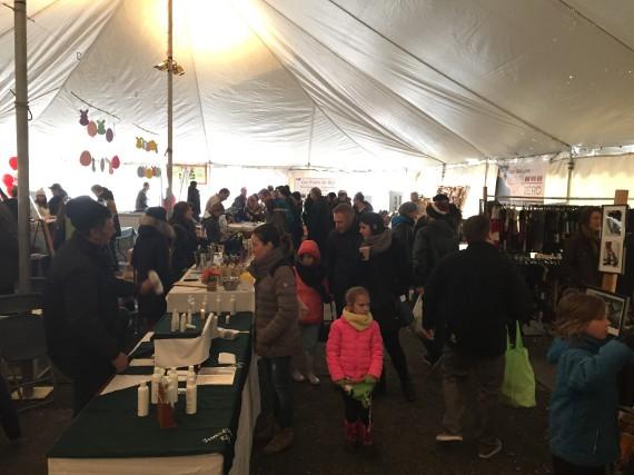 Le Marché de Pâques est ouvert depuis 9h.... (Catherine Trudeau)