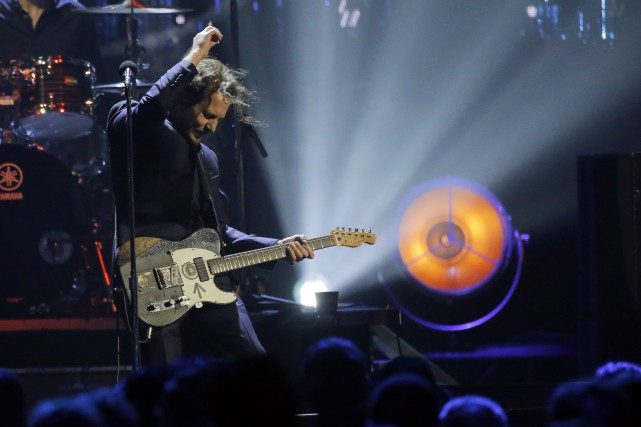 Le chanteur du groupe Pearl Jam, Eddie Vedder... (PHOTO Lucas Jackson, REUTERS)