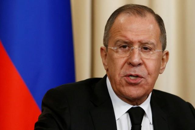 Sergueï Lavrov a assuré à son homologue américain... (PHOTO Sergei Karpukhin, ARCHIVES REUTERS)