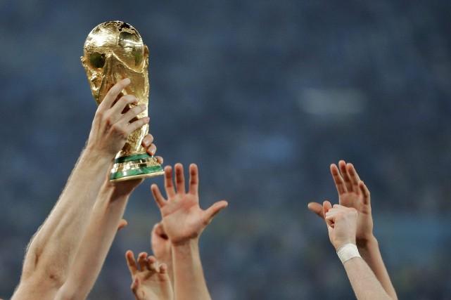 La dernière Coupe du monde disputé en sol... (Matthias Schrader, Archives AP)