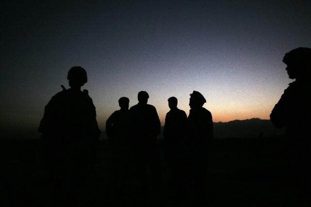 Un soldat américain a été tué samedi au cours d'opérations contre le groupe... (PHOTO ARCHIVES AP)