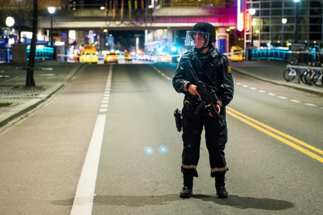 À Oslo, le quartier de Gronland a été... (Photo Fredrik Varfjell, AP)
