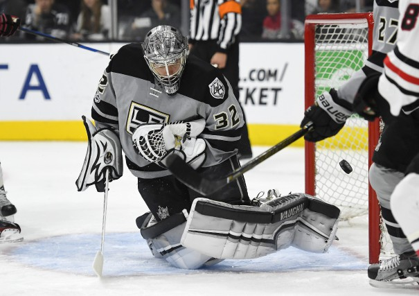 Le gardien Jonathan Quick... (Photo Mark J. Terrill, AP)