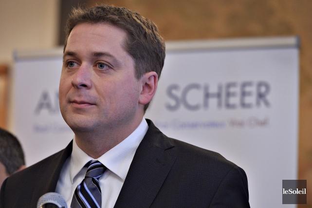 Le conservateur Andrew Scheer, de la circonscription de... (Photothèque Le Soleil)