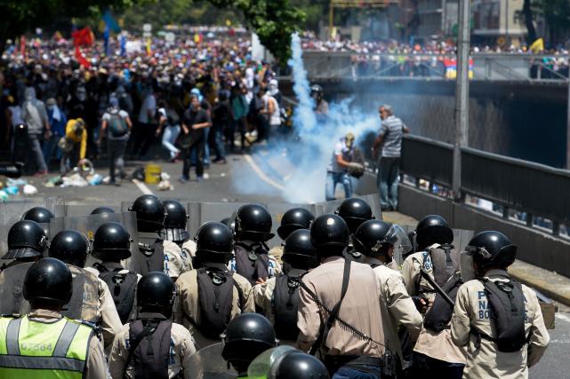 Dans le quartier de La Campiña, quelque 4... (AFP, FEDERICO PARRA)