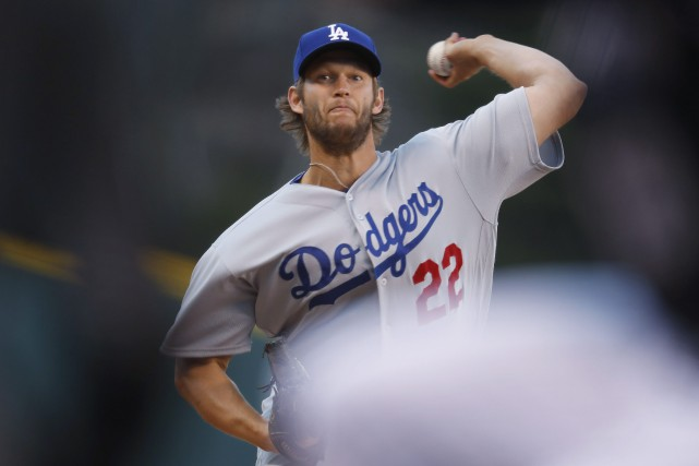 Mauvaise performance pour Clayton Kershaw contre les Rockies.... (Photo David Zalubowski, AP)