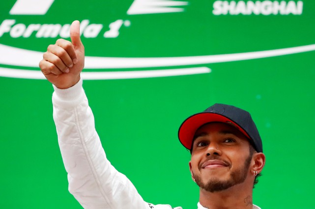 Lewis Hamilton... (Photo Aly Song, Reuters)