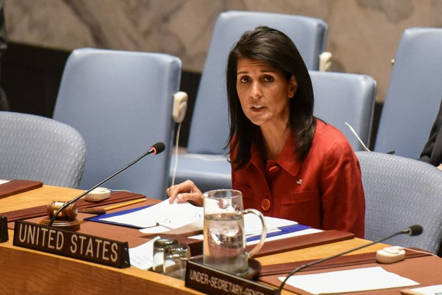 Nikki Haley... (Photo Stephanie Keith, archives REUTERS)