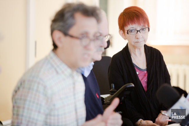 Danielle St-Louis, 59 ans, souffre d'arthrite rhumatoïde depuis... (PHOTO NINON PEDNAULT, LA PRESSE)