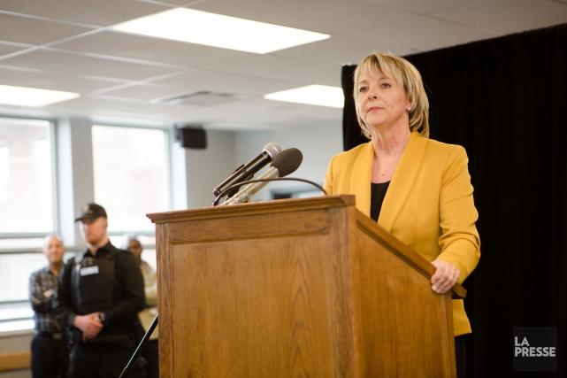 La conseillère municipale Sylvie Parent est la nouvelle... (PHOTO NINON PEDNAULT, LA PRESSE)