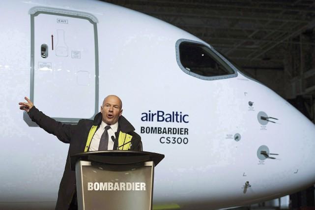 Les salaires des dirigeants de Bombardier font l'objet... (La Presse canadienne)