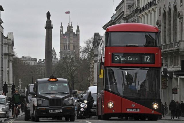 La pollution tue plus de 9000 Londoniens chaque... (AFP, Justin Tallis)