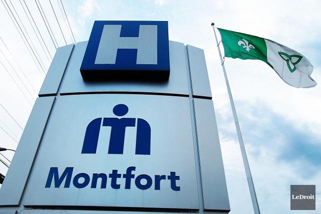 Les hôpitaux d'Ottawa (dont l'hôpital Montfort, sur la... (Archives, Le Droit)