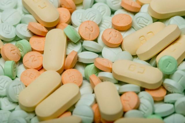 «Ces problèmes-là [de dépendance aux opioïdes] n'ont pas... (PHOTO DAVID BOILY, ARCHIVES LA PRESSE)