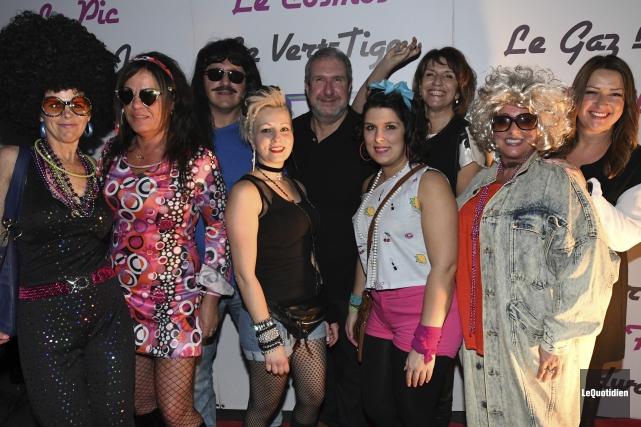 Le party Retour aux années 80 reviendra pour... (Photo Le Quotidien, Michel Tremblay)