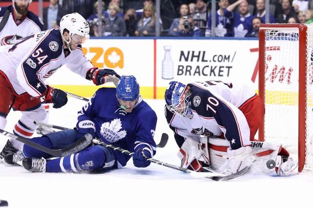 Si les Maple Leafs avaient récolté au moins... (PHOTO REUTERS)