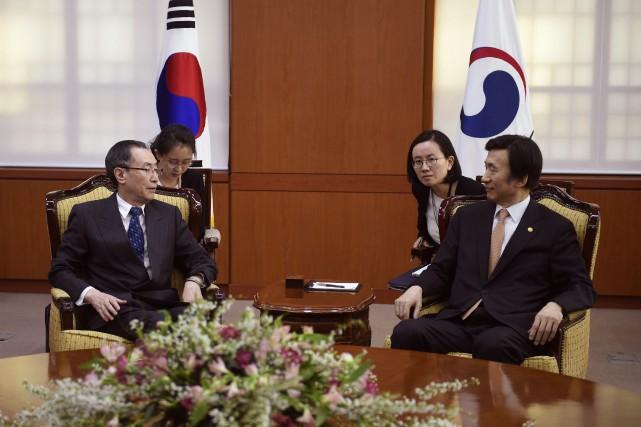 Le représentant spécial de la Chine pour la... (AP)