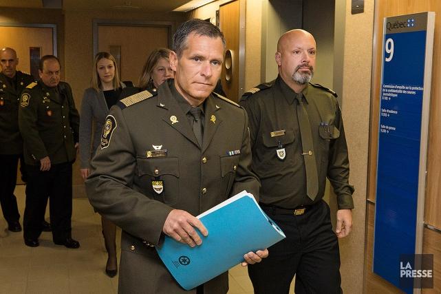 Martin Prud'homme, directeur général de la Sûreté du... (Robert Skinner, La Presse)