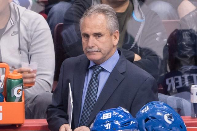 L'entraîneur-chef des Canucks de Vancouver, Willie Desjardins.... (Photo Darryl Dyck, archives PC)