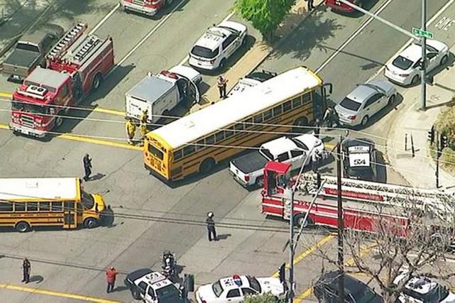 La fusillade s'est produite à l'école primaire North... (PHOTO TIRÉE DU SITE ABC7.COM)