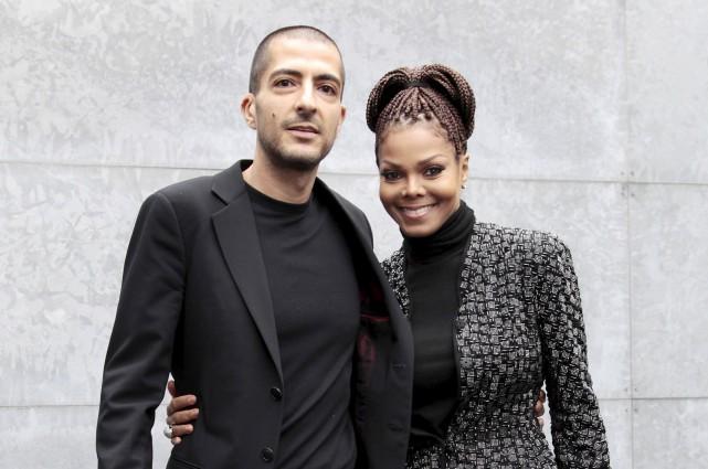 Janet Jackson et le Qatari Wissam Al Mana.... (Photo Alessandro Garofalo, REUTERS)