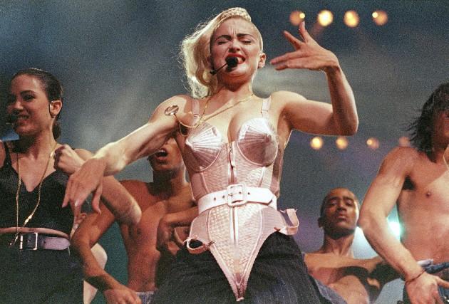 La tournéeBlond Ambitionde Madonna en 1990 s'est révélée... (AP, Sandy Hill)