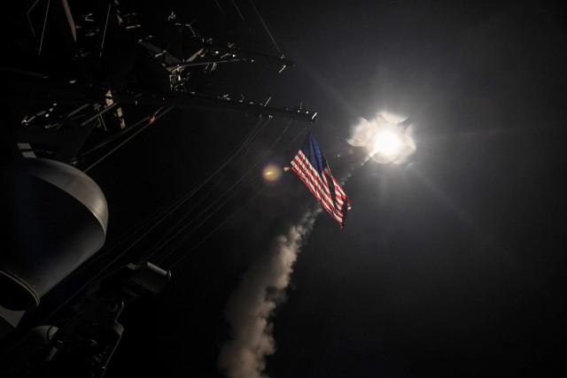 La frappe américaine dans la nuit du 6... (PHOTO REUTERS)